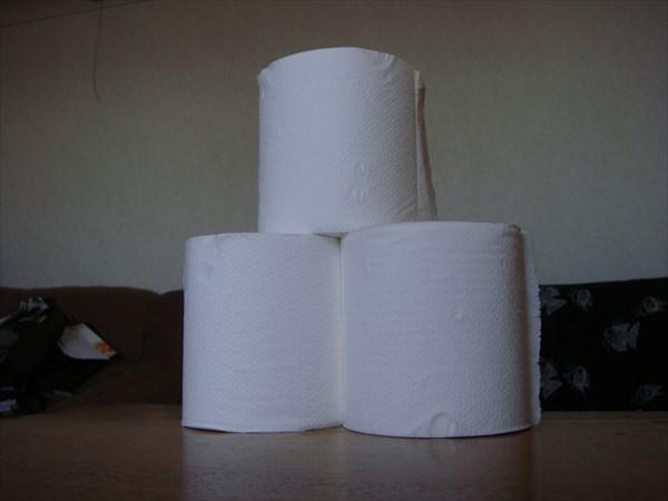 トイレット ペーパー 使用 量